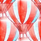 Malowidła ściennego tła wzoru balonu tła tekstury bezszwowy wa Obrazy Stock
