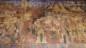 Malowidło ścienne dekoracja i Obraz Royalty Free