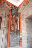 Malowidło ścienne Diego Rivera, Meksyk Fotografia Stock