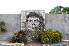Malowidło ścienne Ernesto Che Guevara w Matanzas, blisko do Varadero, Kuba fotografia royalty free