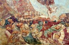 Malowidło ścienne obraz fotografia stock
