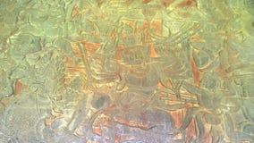 Malowidło ścienne obraz w Angkor Wat, siemreap Cambodia obrazy royalty free