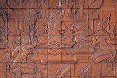 Malowidło ścienne rzeźby Fotografia Royalty Free