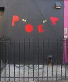 Malowidło ścienne sztuka przy Wschodnim Williamsburg w Brooklyn Fotografia Royalty Free