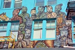 Malowidło ścienne Terakotowy wojsko Zdjęcia Stock