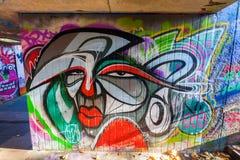 Malowidło ścienne w odważniaku, Niemcy Zdjęcia Royalty Free
