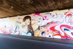 Malowidło ścienne w odważniaku, Niemcy Fotografia Stock
