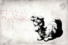 Malowidło ścienne zabawy sztuki projekta pomysłu ściana Zdjęcia Stock