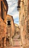 Malownicza średniowieczna Eze wioska w południe Francja obrazy stock