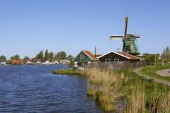 Malownicza etnograficzna wioska Zanes-Schans Holandie Obraz Stock