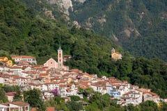 Malownicza górska wioska Zdjęcie Royalty Free