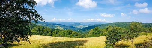 Malownicza panorama góry Obrazy Royalty Free
