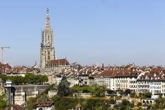 Malownicza panorama stary miasteczko Zdjęcia Stock