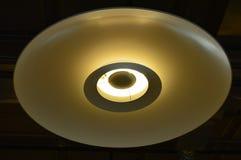 Malownicza Podsufitowa lampa tło szczegółów tekstury okno stary drewniane zdjęcie stock