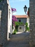 Malownicza Śródziemnomorska wioska Obrazy Royalty Free
