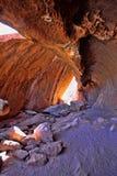 malownicza rockowa formacja w czerwonym centrum Australia zdjęcie stock