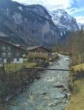 Malownicza Szwajcarska dolina Obraz Stock