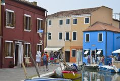 Malownicza Włoska wioska Zdjęcia Royalty Free