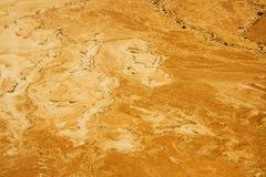 Malownicze antyczne góry o Nieżywym morzu w Izrael Zdjęcie Stock