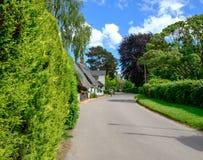 Malownicze chałupy widzieć w Angielskiej kraj wiosce Zdjęcie Royalty Free