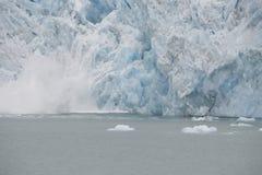 Malownicze góry lodowa różne formy w Arktycznym Obraz Stock