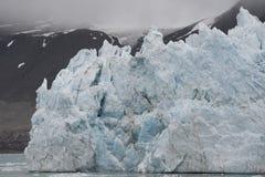 Malownicze góry lodowa różne formy w Arktycznym Zdjęcia Royalty Free