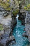 Malowniczy athabasca spada rzeczny Canada Obrazy Stock