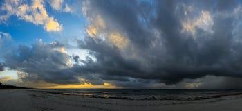 Malowniczy brzegowy Diani Fotografia Stock