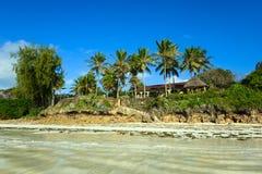 Malowniczy brzegowy Diani Zdjęcie Royalty Free