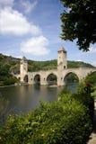 Malowniczy Cahors, Francja Zdjęcia Royalty Free