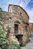 Malowniczy dom łupek w wiosce Fotografia Royalty Free