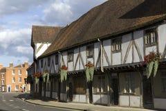 Malowniczy Gloucestershire, Tewkesbury - fotografia royalty free