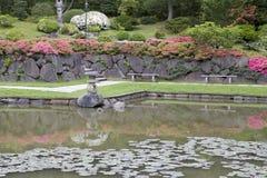 Malowniczy japończyka ogród Zdjęcie Stock
