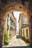 Malowniczy kąt w Tuscany, Włochy fotografia stock
