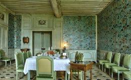 Malowniczy kasztel Talcy w Loir et Cher Fotografia Royalty Free