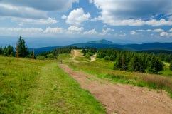 Malowniczy krajobraz góra fotografia royalty free