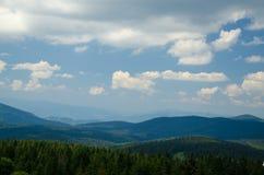 Malowniczy krajobraz Kopaonik obraz stock