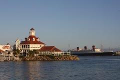 Malowniczy Long Beach Zdjęcie Royalty Free