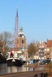 Malowniczy Meppel w holandiach Zdjęcia Royalty Free