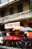 Malowniczy miasto Portowy Louis w Mauritius republice Fotografia Stock