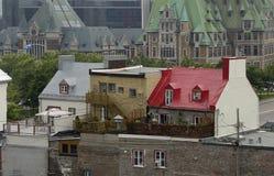 Malowniczy miasto Quebec Obraz Stock