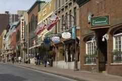 Malowniczy miasto Quebec Zdjęcia Royalty Free