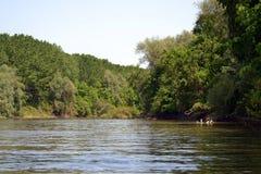 Malowniczy miejsca na Jianu ręki kanale 1 fotografia royalty free