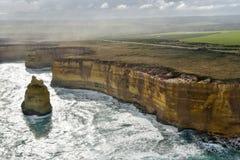 Malowniczy oko widoki Wielka ocean droga Obraz Stock