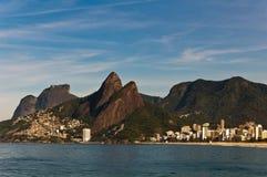 Malowniczy Rio De Janeiro wybrzeże zdjęcie royalty free