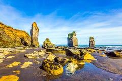 Malowniczy skały ` Trzy siostr ` Obraz Royalty Free