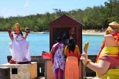 Malowniczy teren los angeles Pointe aux Canonniers w Mauritius Repu Fotografia Royalty Free