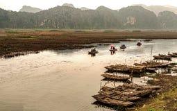 Malowniczy Van Tęsk rezerwat przyrody w Wietnam Zdjęcie Stock