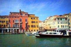 Malowniczy Wenecja widok Obrazy Stock