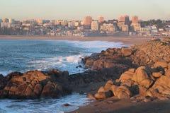 Malowniczy widok nad Porto miastem Zdjęcia Stock